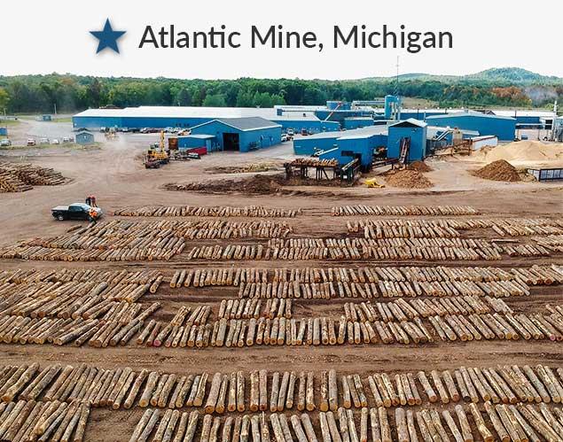 northern hardwoods atlantic mine, Michigan location