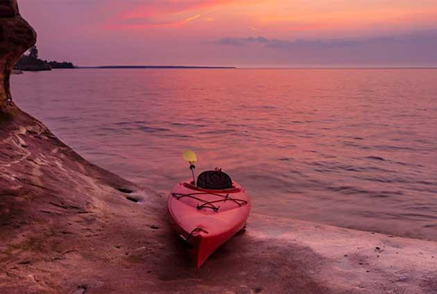 lake superior Michigan's Upper peninsula