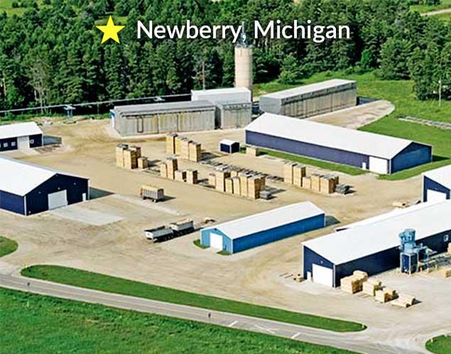 northern hardwoods newberry, Michigan location