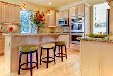 ultra white hard maple kitchen cabinets